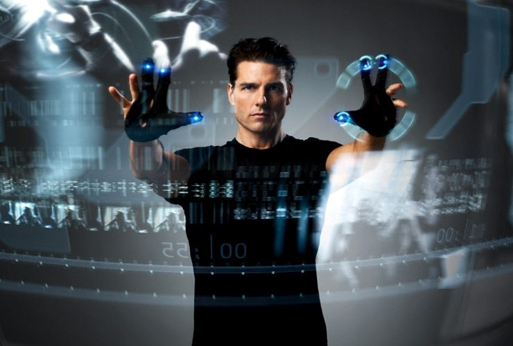 Proyecto pretende crear interfaz t�ctil inspirado en Minority Report