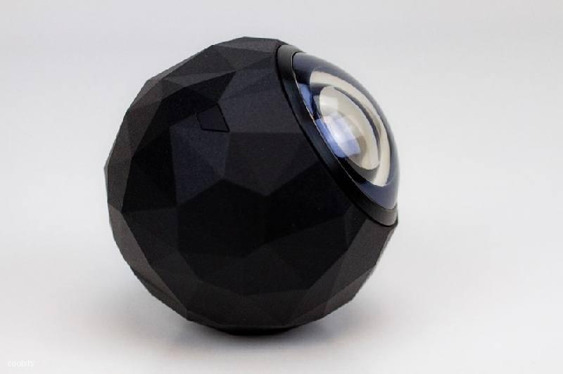 Action cam, 360Fly captura vídeos en 360 grados