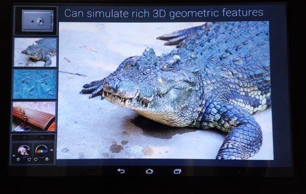Fujitsu muestra tablet prototipo con pantalla capaz de reproducir texturas