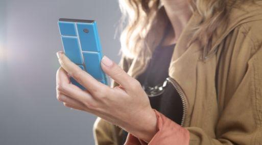 Proyecto Ara, tel�fono modular de Google, que puede llegar en 2015 por $50