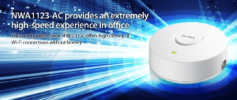 ZyXEL presenta Puntos de Acceso con banda dual