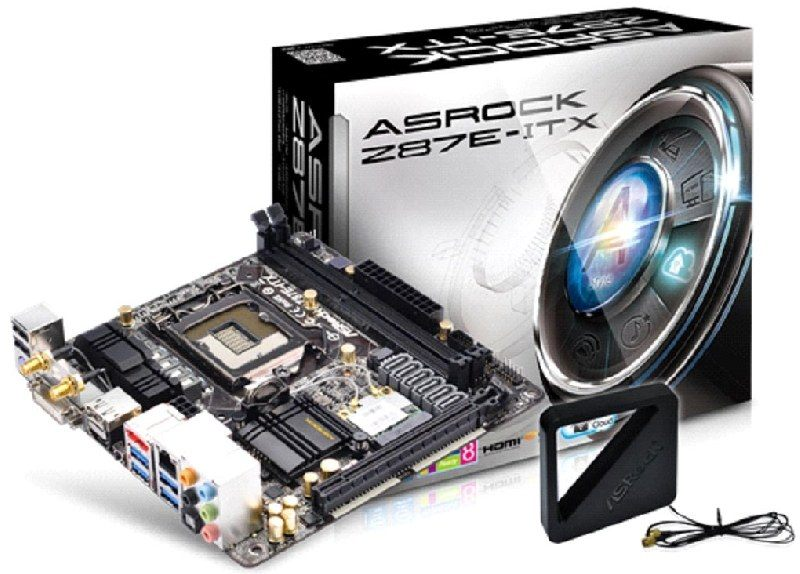 ASRock revoluciona el área de las mini placas madre con la Z87E-ITX