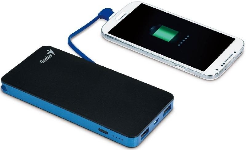 Genius presenta nuevo cargador de baterías de 8000 mAh para cargar hasta dos dispositivos simultáneamente