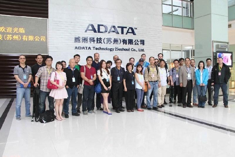 ADATA realiz� exitoso Factory Tour 2014
