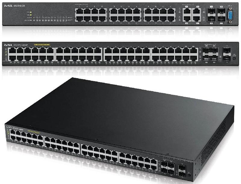 ZyXEL presenta Switches para consolidar redes de voz, video y datos
