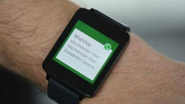 Whatsapp para Android Wear ya disponible