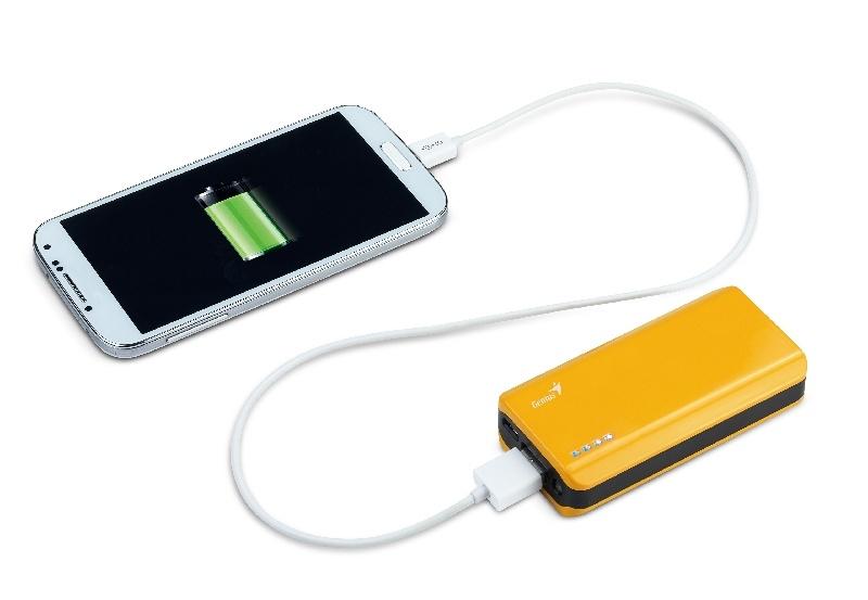 Genius mantiene cargados tus dispositivos m�viles