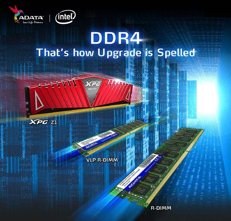 Los módulos DDR4 de ADATA están listos para Intel Haswell