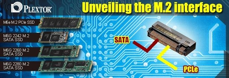 SSD: Plextor revela caracter�sticas de la interfaz M.2