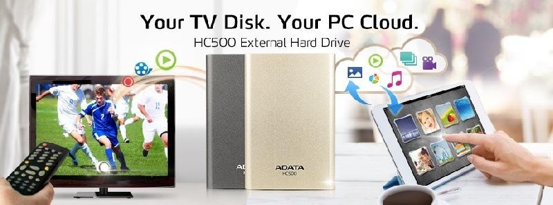 ADATA presenta disco externo para Smart TV y Cloud Personal