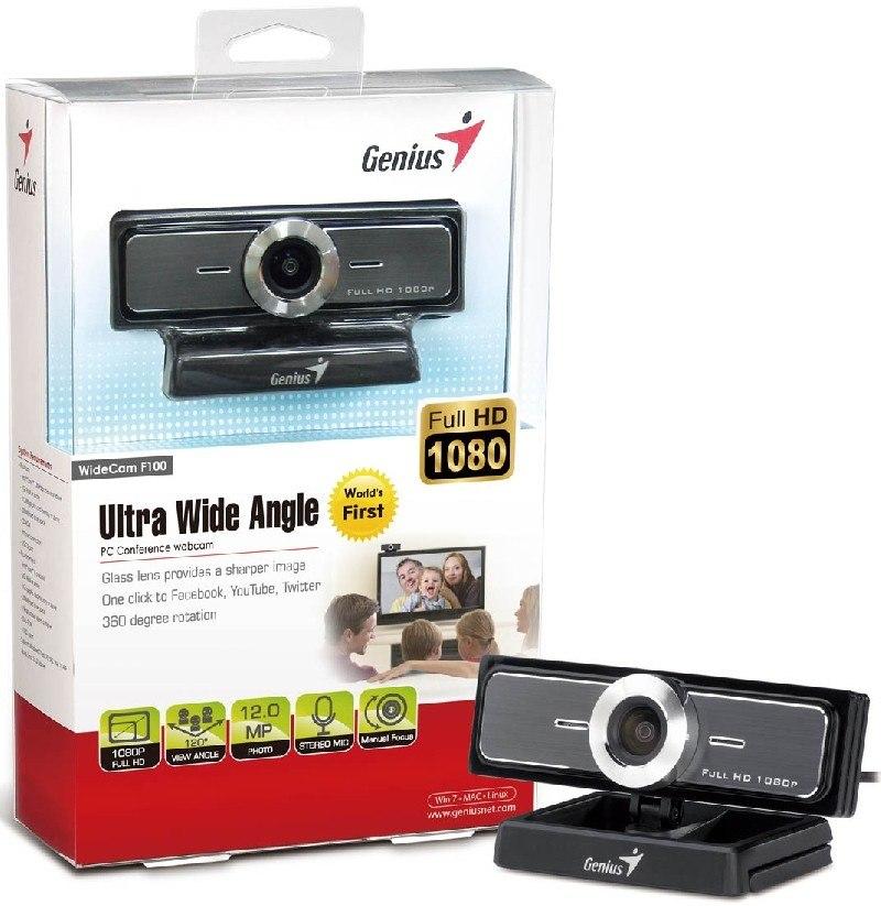 Genius presenta nueva webcam Full HD