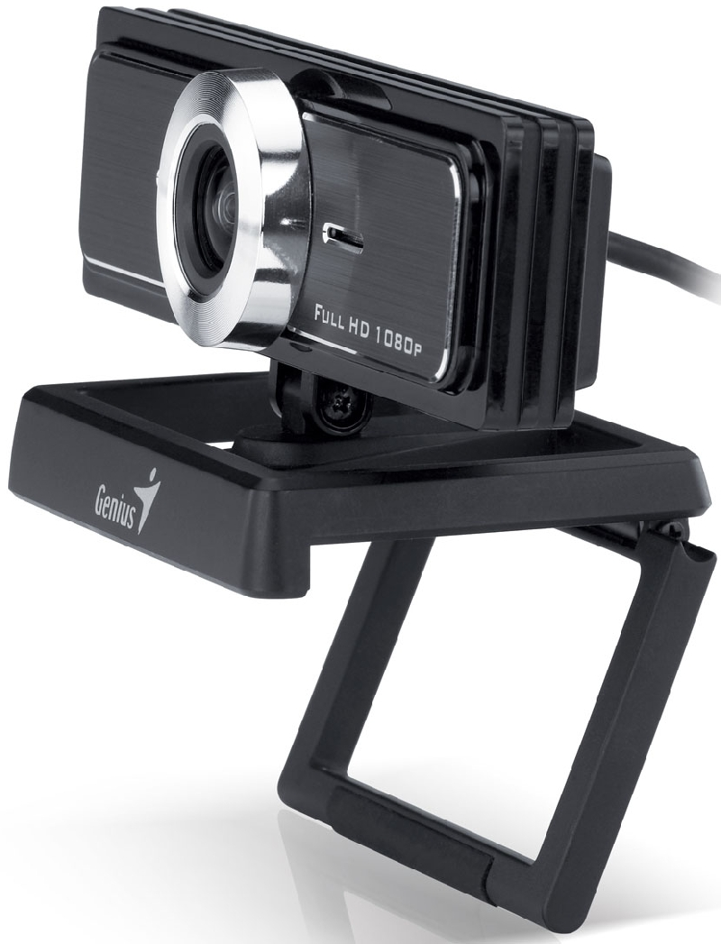 Genius presenta nueva webcam Full HD