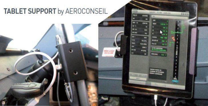 AKKA Aeroconseil dise�a y comercializa un soporte para table...