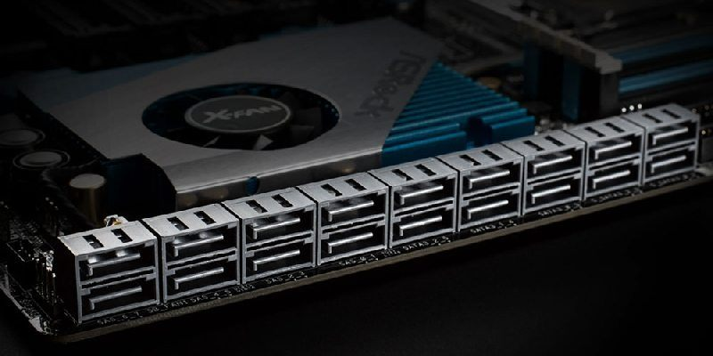 ASRock lleva el almacenamiento al extremo con 18 puertos SATA3 6.0 Gb/s