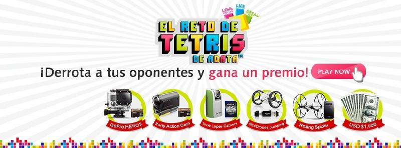 ADATA presenta el mega evento online Tetris Challenge