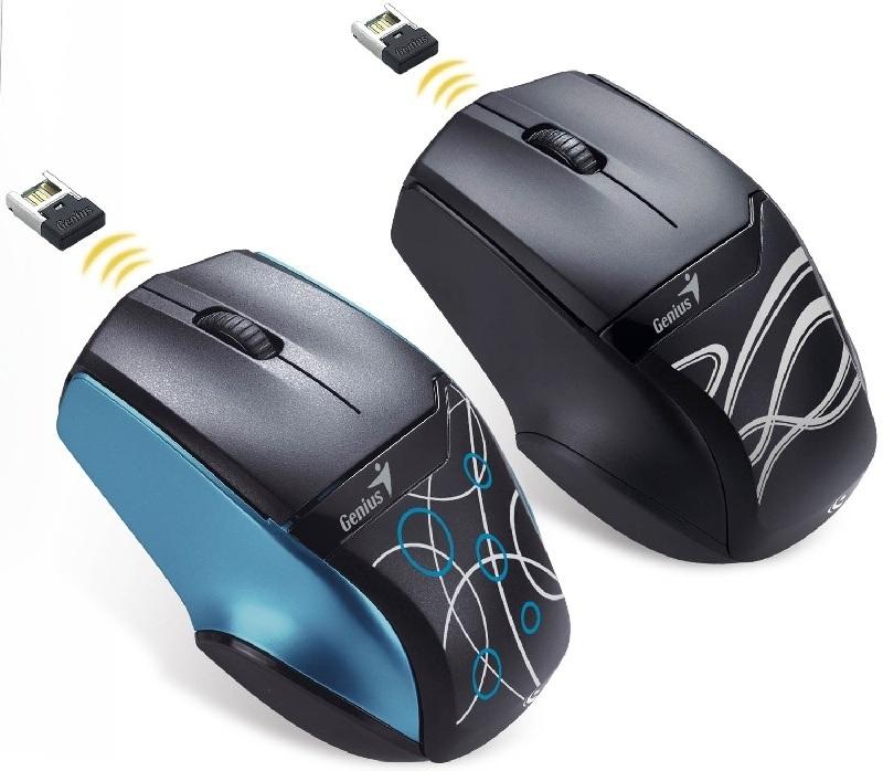 Genius presenta mouse BlueEye que funciona con bater�a AA o AAA