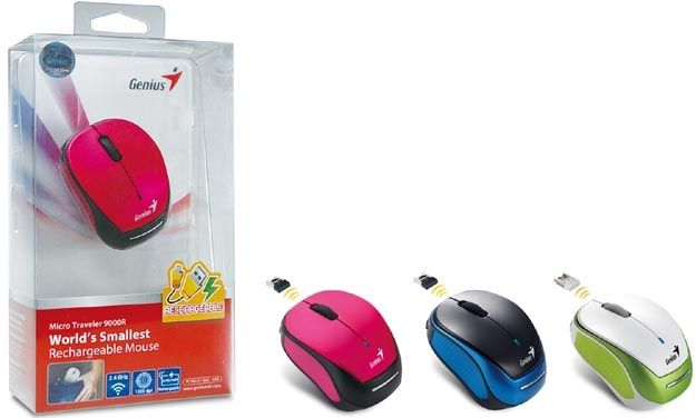 Genius presenta el mouse ultra peque�o de tan solo 68 mm con bater�a recargable