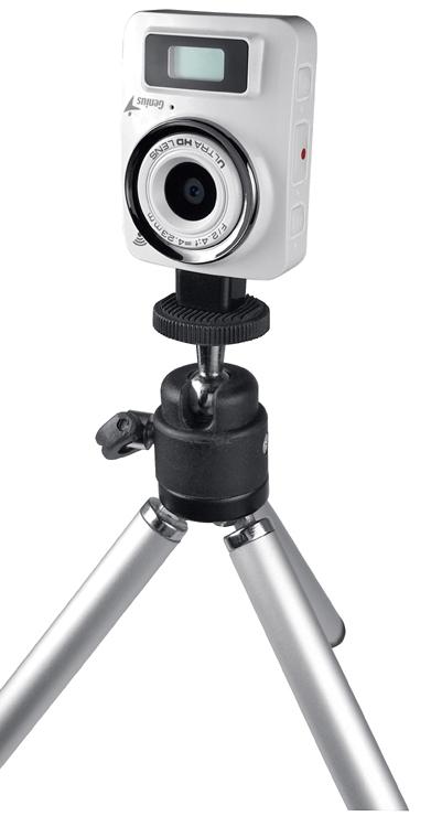 Genius presenta cámara de fotos y videos sumergible y con WiFi