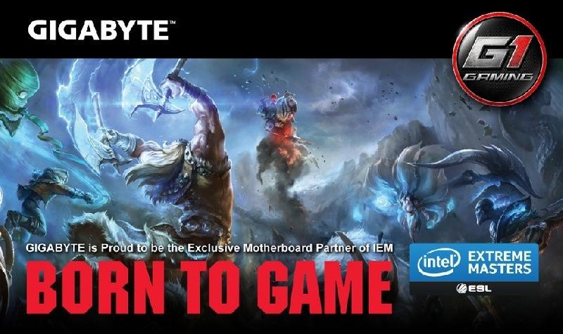 GIGABYTE sponsor exclusivo en IEM