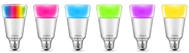 ADATA presenta sus focos LED de 16 Millones de Colores
