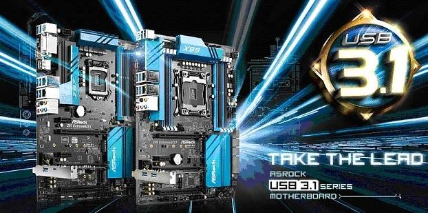 ASRock presenta placas madres con conectores USB 3.1 Type-A y Type-C