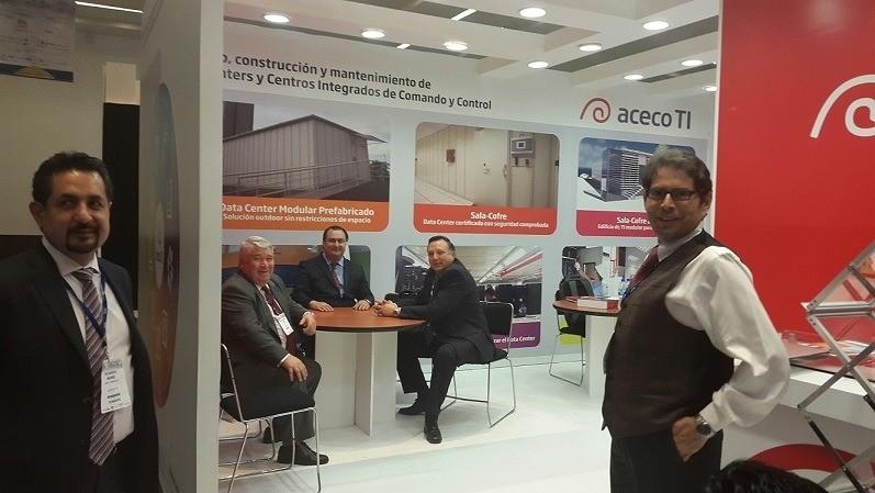 Aceco TI particip� en el Congreso Internacional de Infraestructura TI