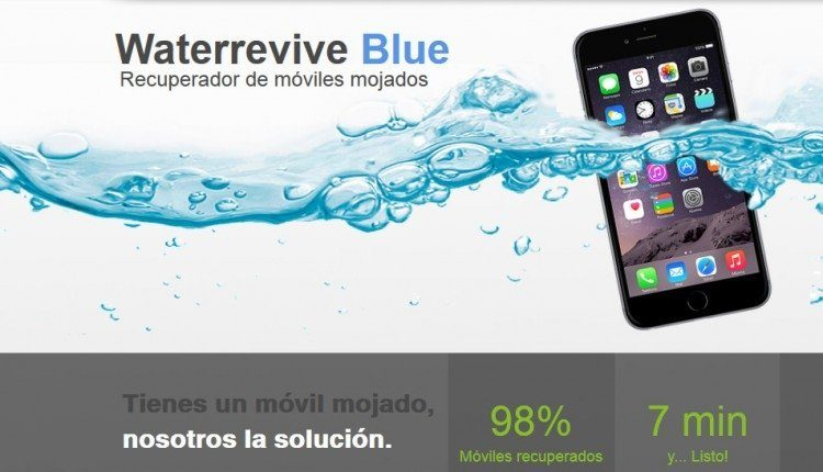 Waterrevive Blue, revive los moviles mojados