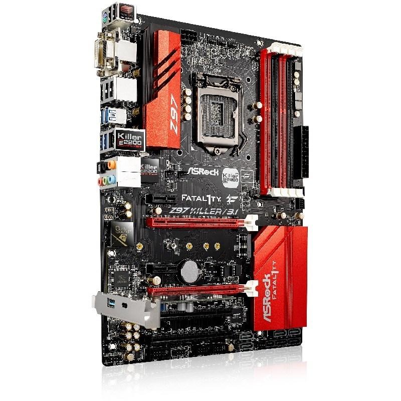 El motherboard Fatal1ty Z97 Killer/3.1 de ASRock se encuentra disponible en Argentina