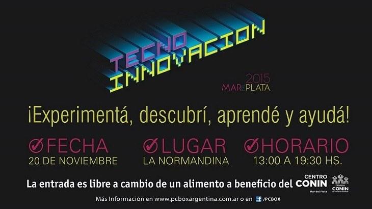 Se viene Tecno-Innovación Mar del Plata 2015