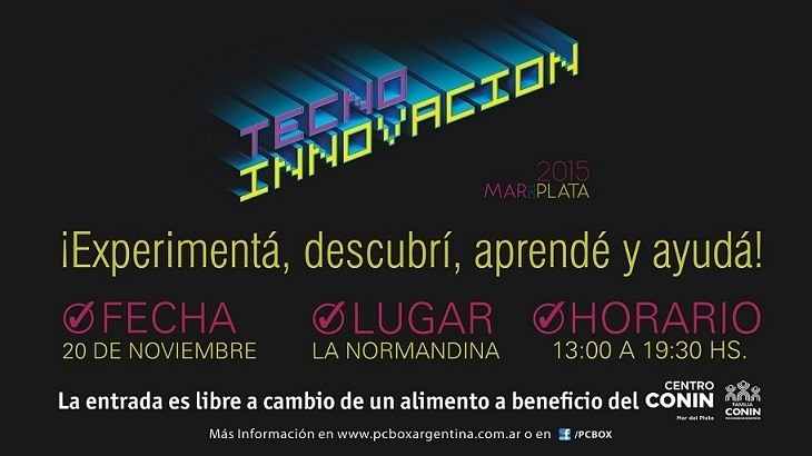 Se viene Tecno-Innovaci�n Mar del Plata 2015