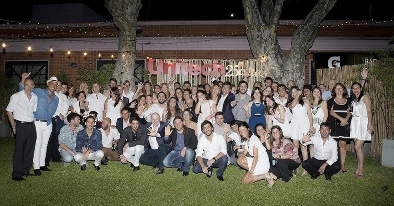 Unitech celebr� sus 25 a�os en Argentina