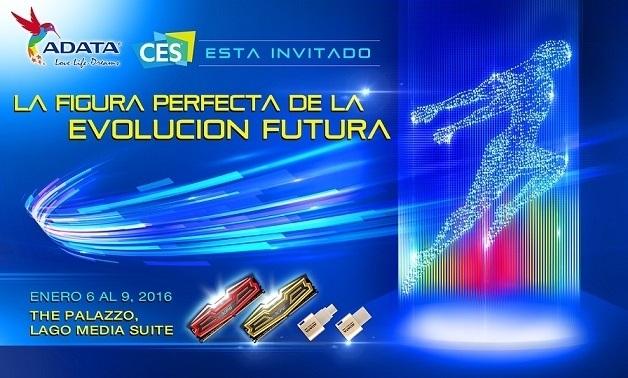 ADATA presenta novedades en CES 2016