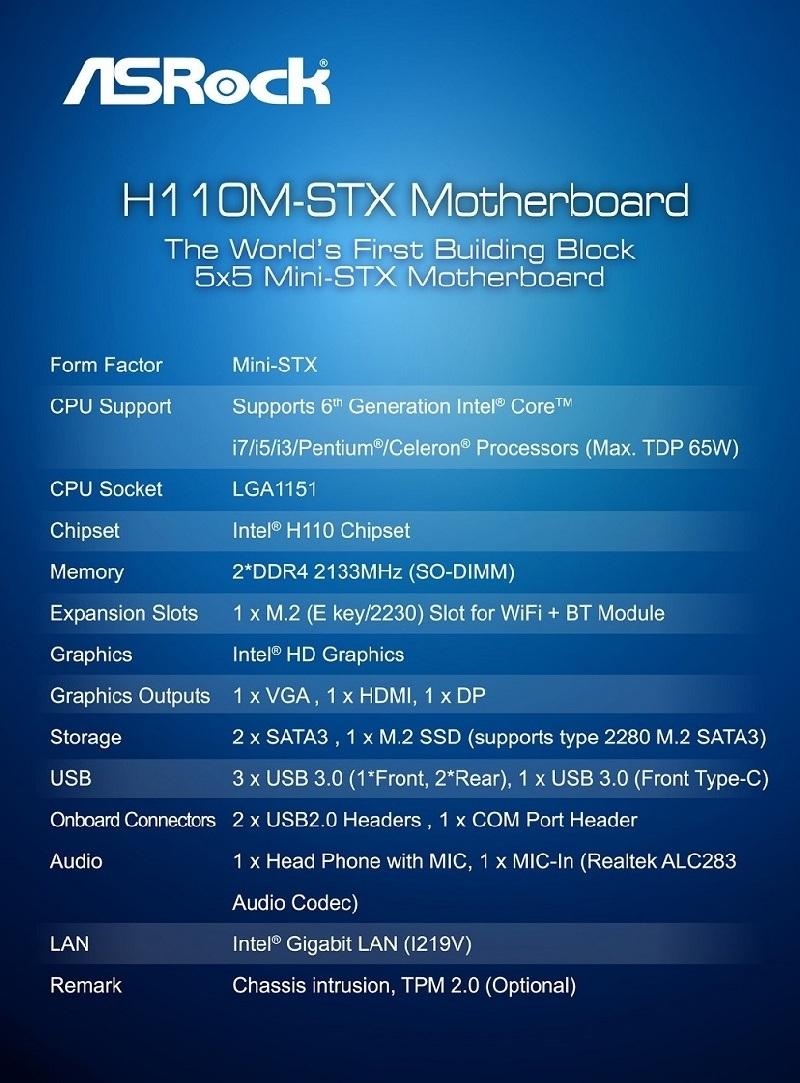 ASRock mostr� la primera PC con formato Mini-STX en el CES 2016