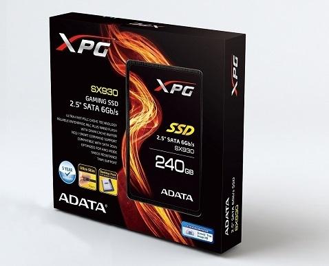 ADATA anuncia la disponibilidad de SX930 de 240GB y SP550