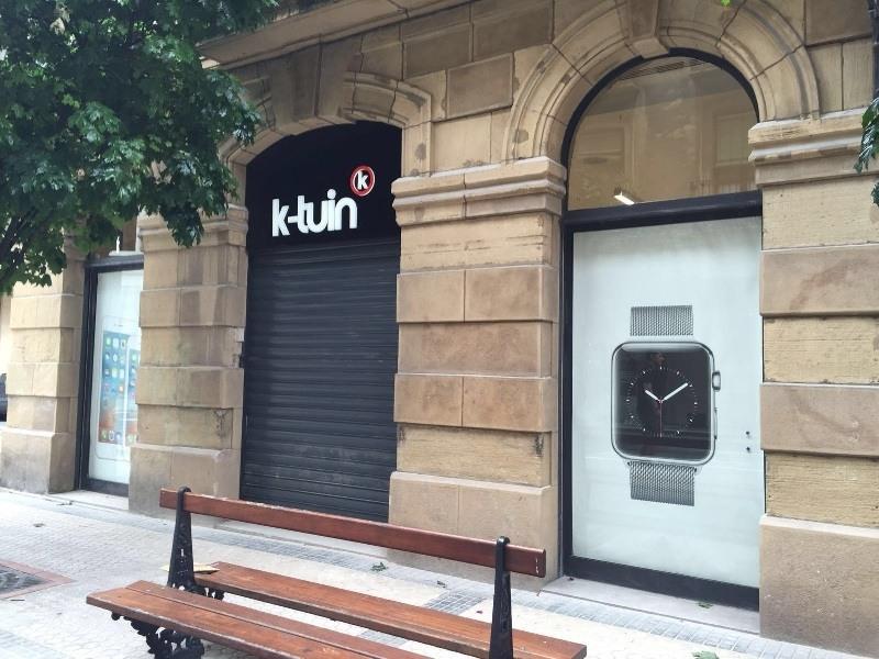 K-tuin abre nueva tienda Apple en San Sebastián