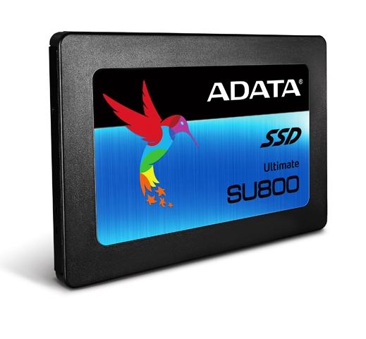 ADATA presentó el SSD Ultimate SU800 SATA 6Gb/s 3D NAND