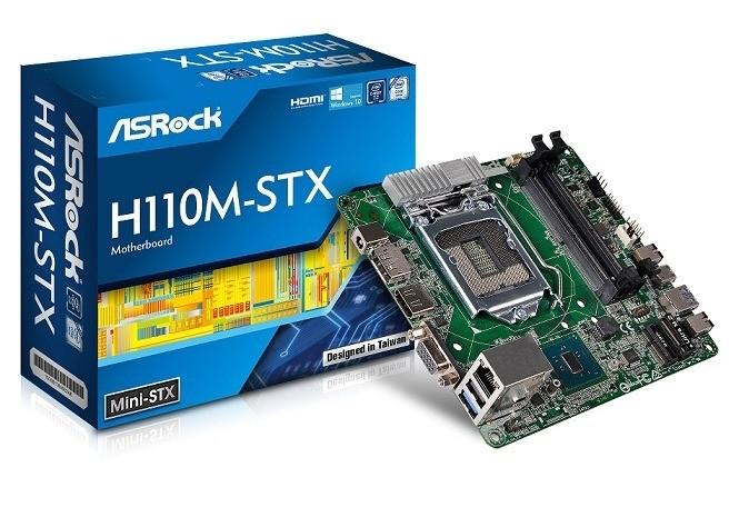 ASRock: primer Motherboard Mini-STX basado en el Chipset H110