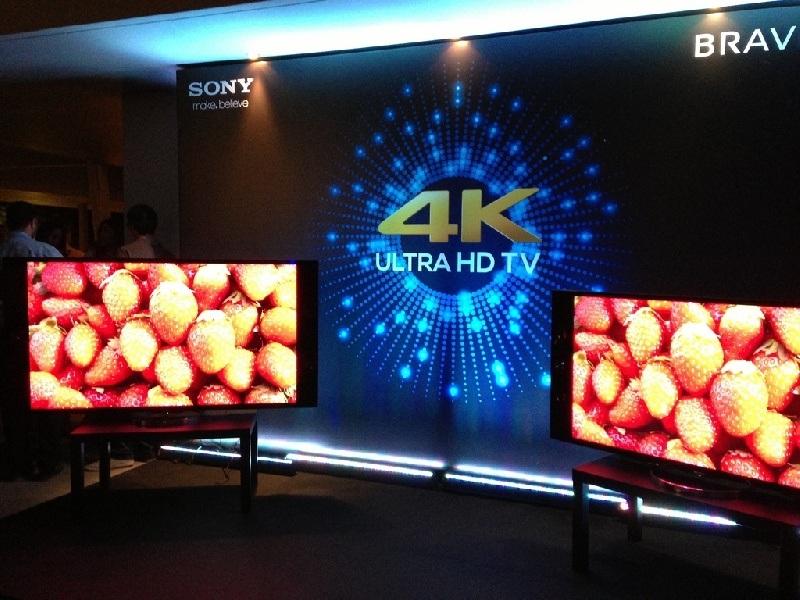 La nueva pantalla de Sony: 4K Z9D TV