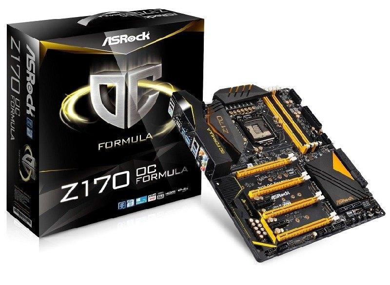 ASRock anuncia la disponibilidad del motherboard Z170 OC Formula