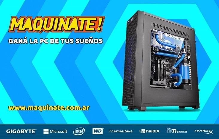 GIGABYTE presenta Maquinate