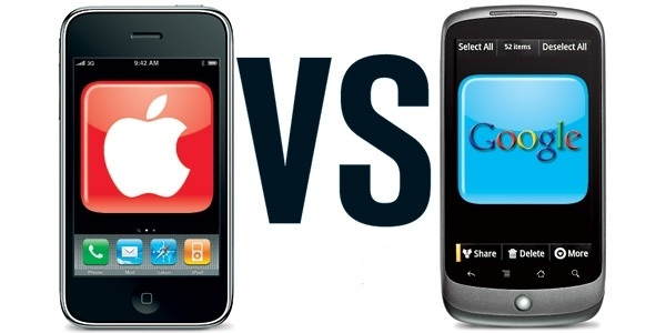 Rivalidad Google/Apple: Android vs. iOS