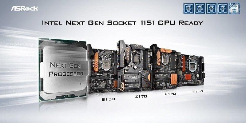 Serie 100 de ASRock soportan los nuevos procesadores para Socket 1151 de Intel