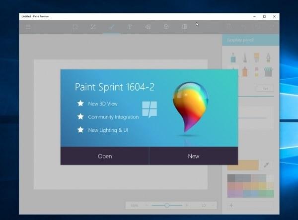 Ya puedes instalar el Paint 3D en Windows 10