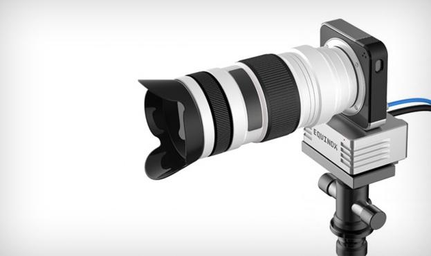 Esta cámara puede fotografiar objetos que no ve directamente