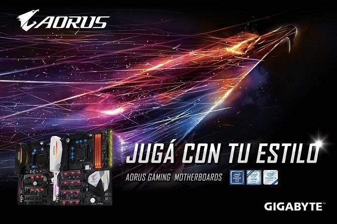 Llega GIGABYTE AORUS Gaming