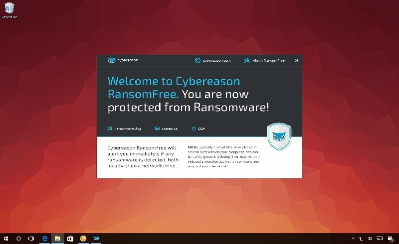 RansomFree bloqueará cualquier ransomware antes de que te afecte