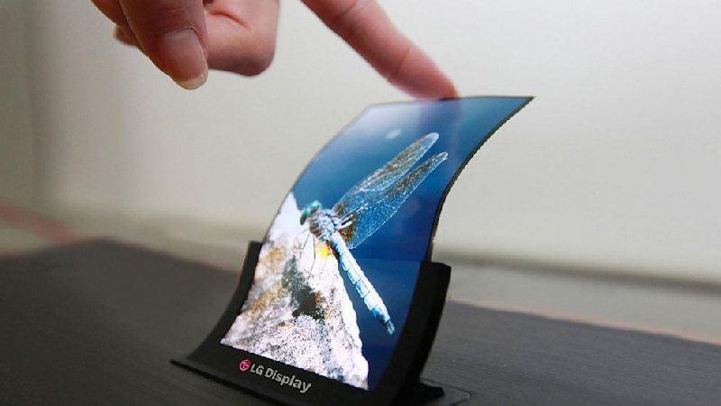 Las pantallas LCD flexibles y mucho más baratas