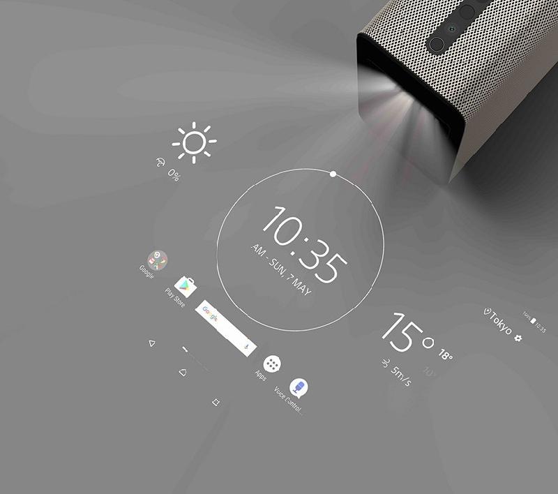 Xperia Touch nos permite que cualquier superficie plana sea una pantalla