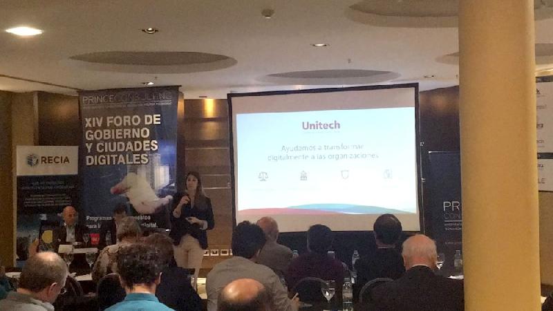 Unitech presentó casos de éxito de transformación digital