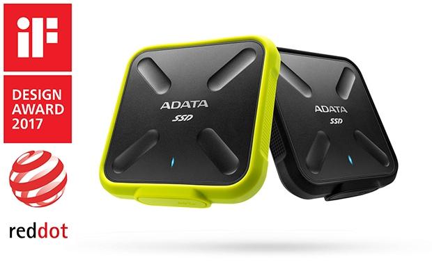 El disco externo ADATA SD700 3D NAND SSD obtuvo el premio Re...